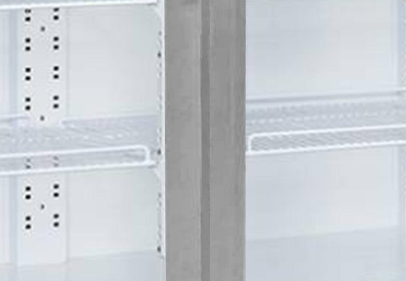 tủ mát 2 cửa đèn led
