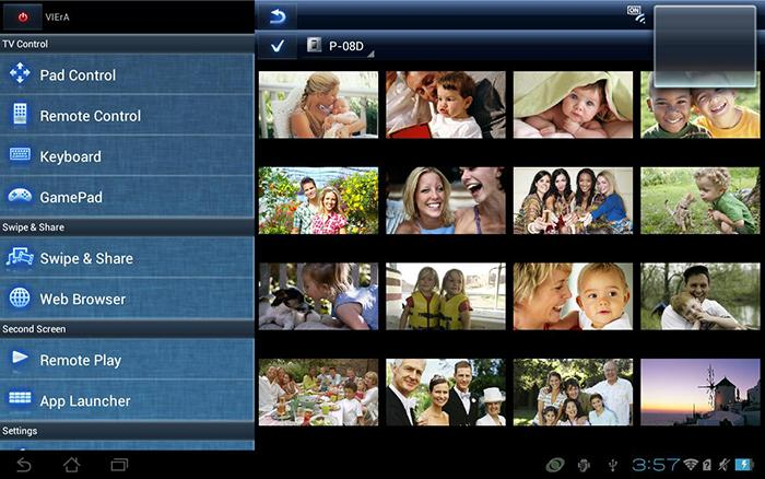 Panasonic remote 2 là ứng dụng giúp iPad điều khiển tivi Panasonic