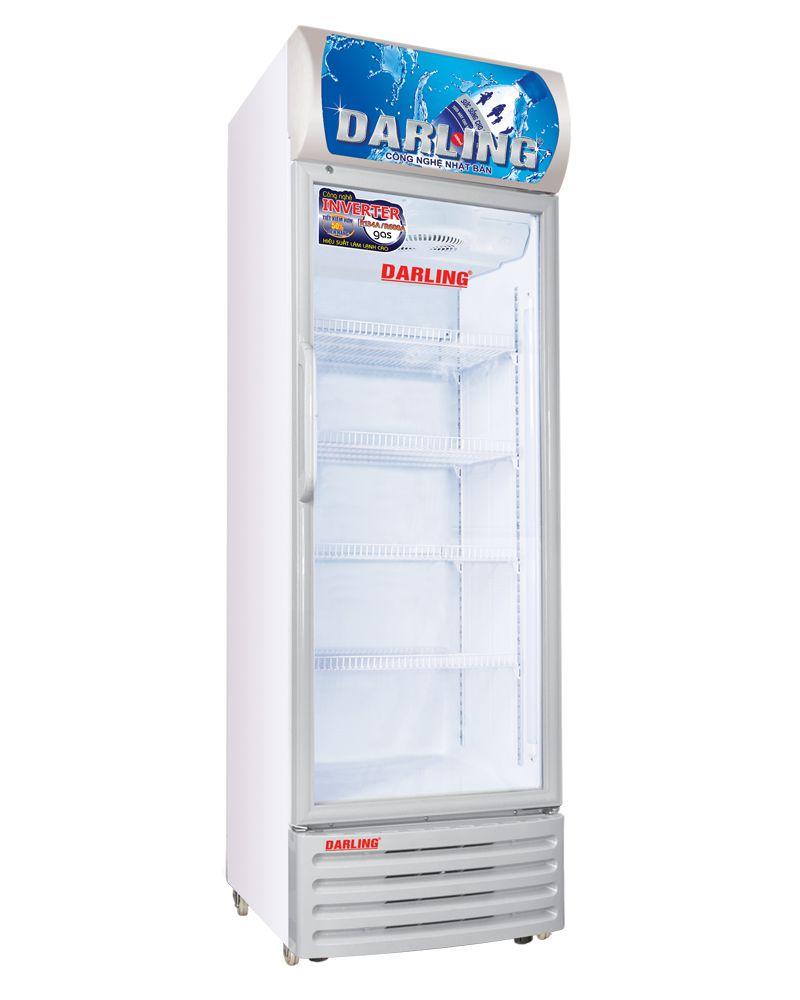 tủ mát 1 cửa đèn led