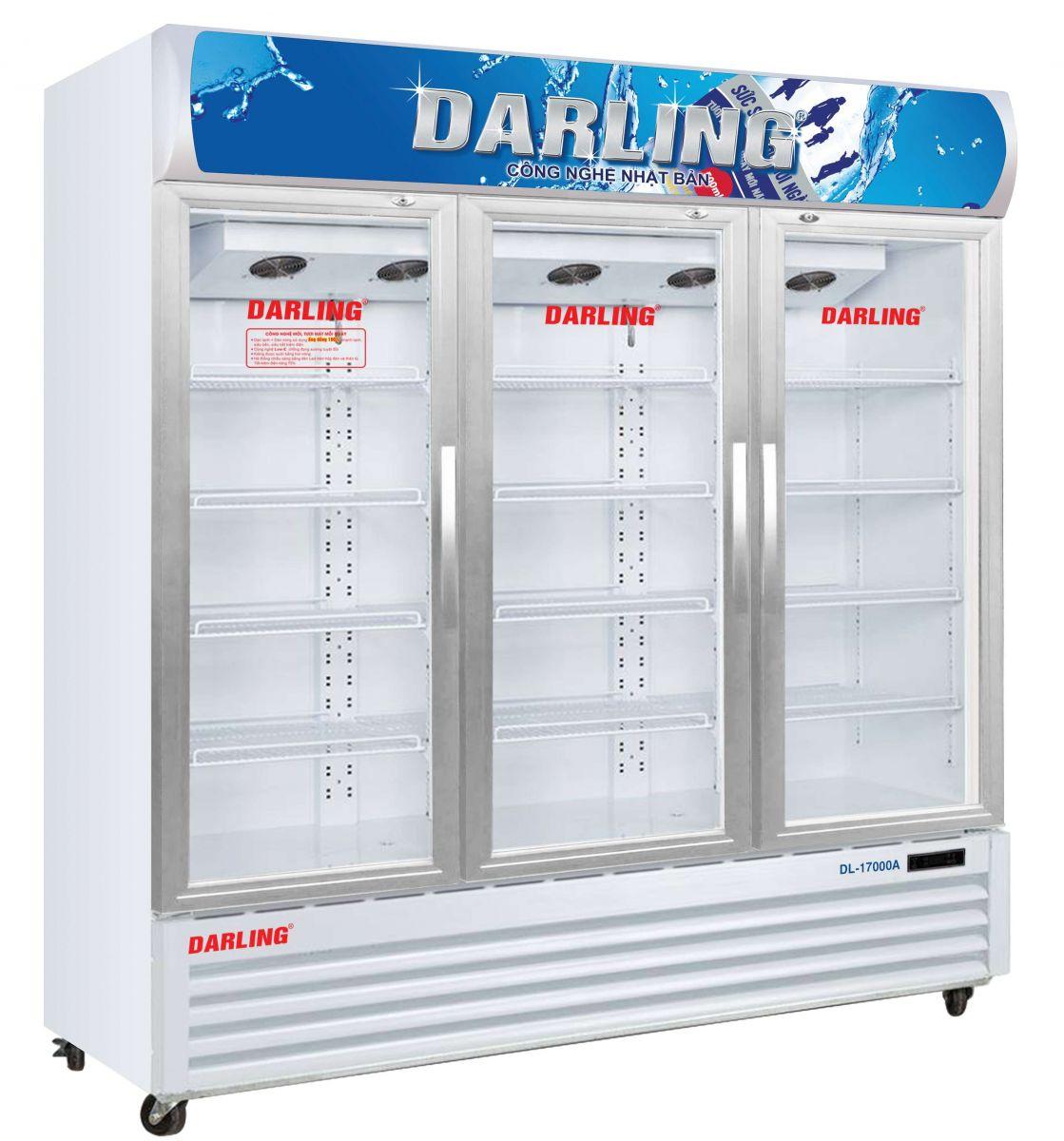 tủ mát 2 cửa dèn led